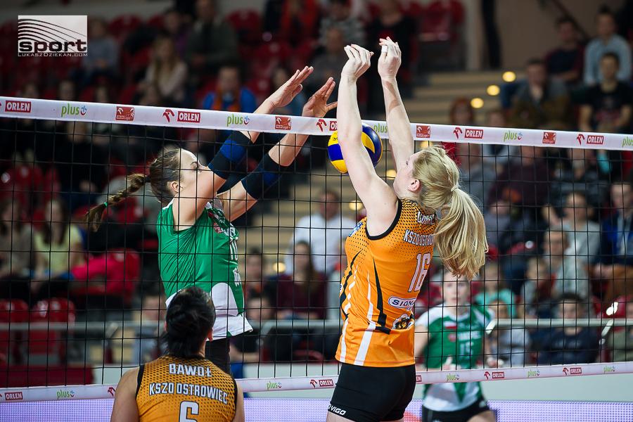 Orlen Liga , mecz KSZO Ostrowiec Sw – Impel Wroclaw 0:3 (23:25, 22:25, 24:26)